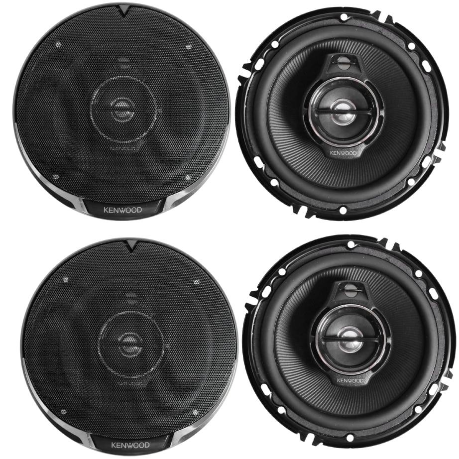 "Kenwood 2 Pairs KFC-1695PS 320W Performance Series 6.5"" 3-Way Coaxial  Speakers"
