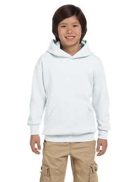 Hanes Youth ComfortBlend; Eco Smart; Pullover Hoodie, Color: Light Blue, Size: S --- PACK OF 2 (Boys - Original Company Packing)