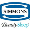 Simmons Beautysleep Folding Guest Bed with Springs and Memory Foam Mattress, Twin