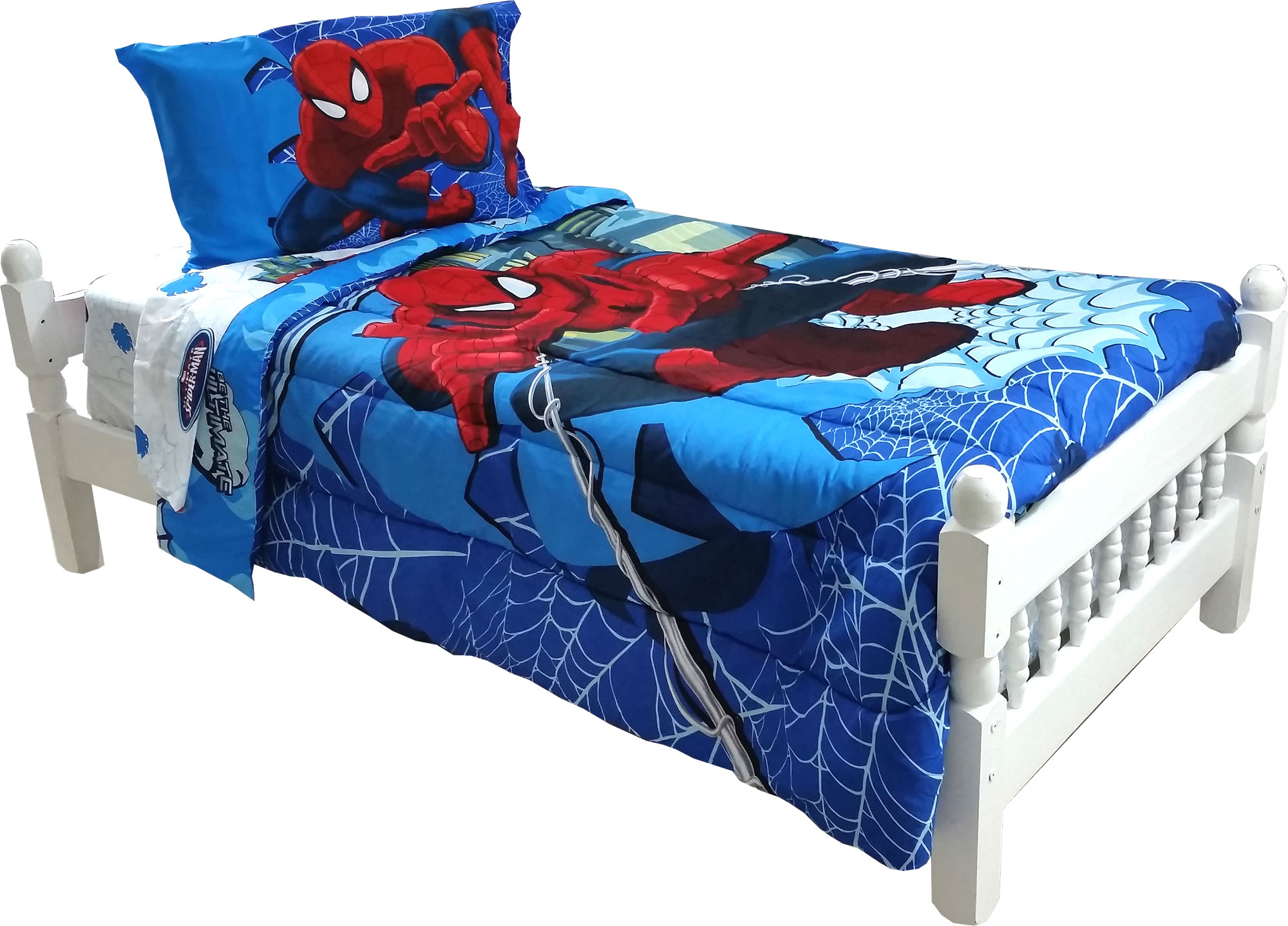Spiderman Bed Set And Curtains Home