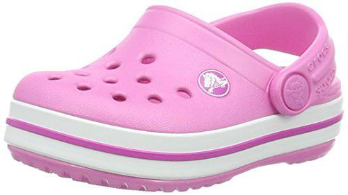 Crocs 204537-6U9: Crocband Clog Pink Kids Sandal by crocs
