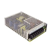 RS-100-24 Mean Well AC/DC Single Output Power Supply. 100Watts, 24V.