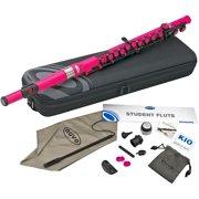 Nuvo Student Plastic Flute Kit Pink