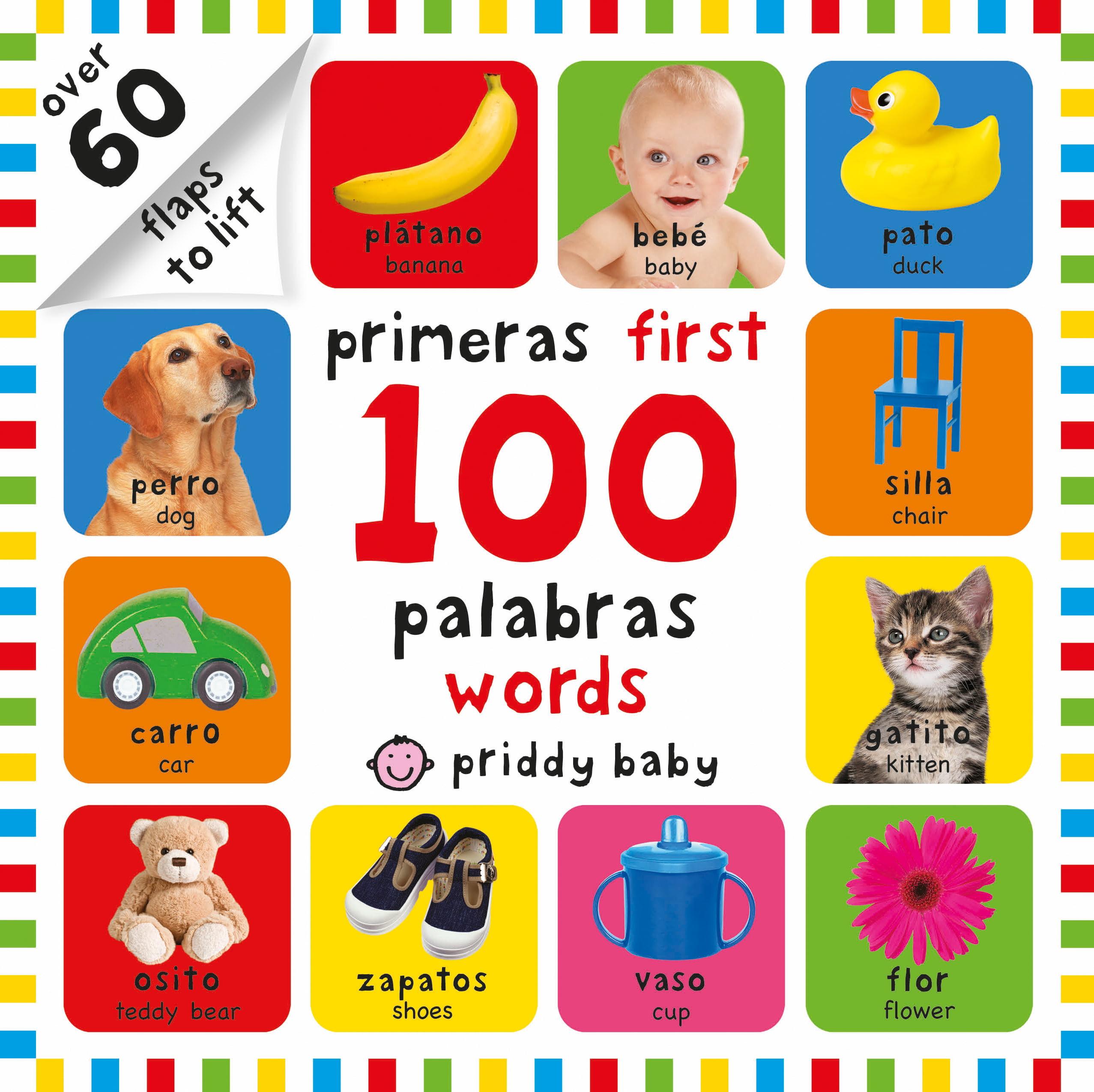 Primeras First 100 palabras words (Board Book)