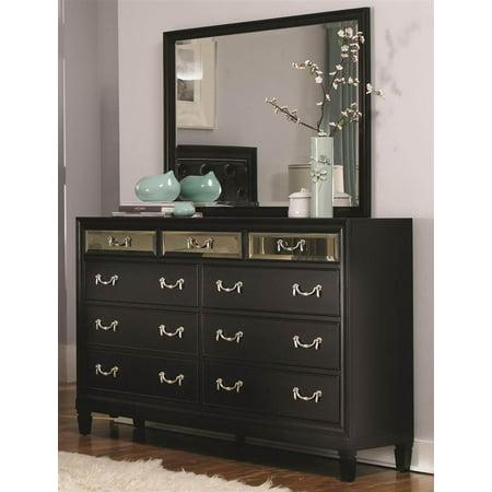 9 Drawer Dresser In Black