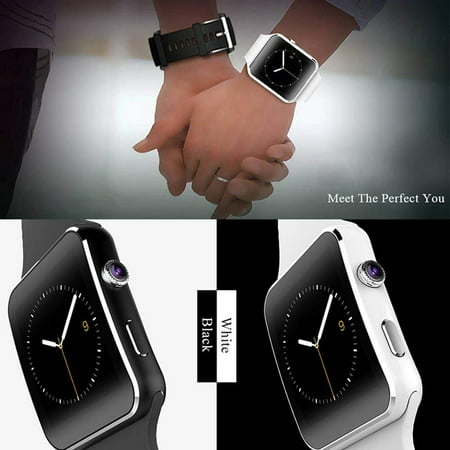 Luxury Bluetooth Smart Watch Unlocked Phone for Women Men Boy Android Phone