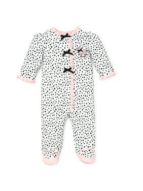 056fadd9a LTM BABY Baby Girls One-piece Pajamas - Walmart.com