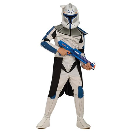 Captain Rex Costume (Star Wars Clone Wars Boys Captain Rex Clone Trooper Costume)