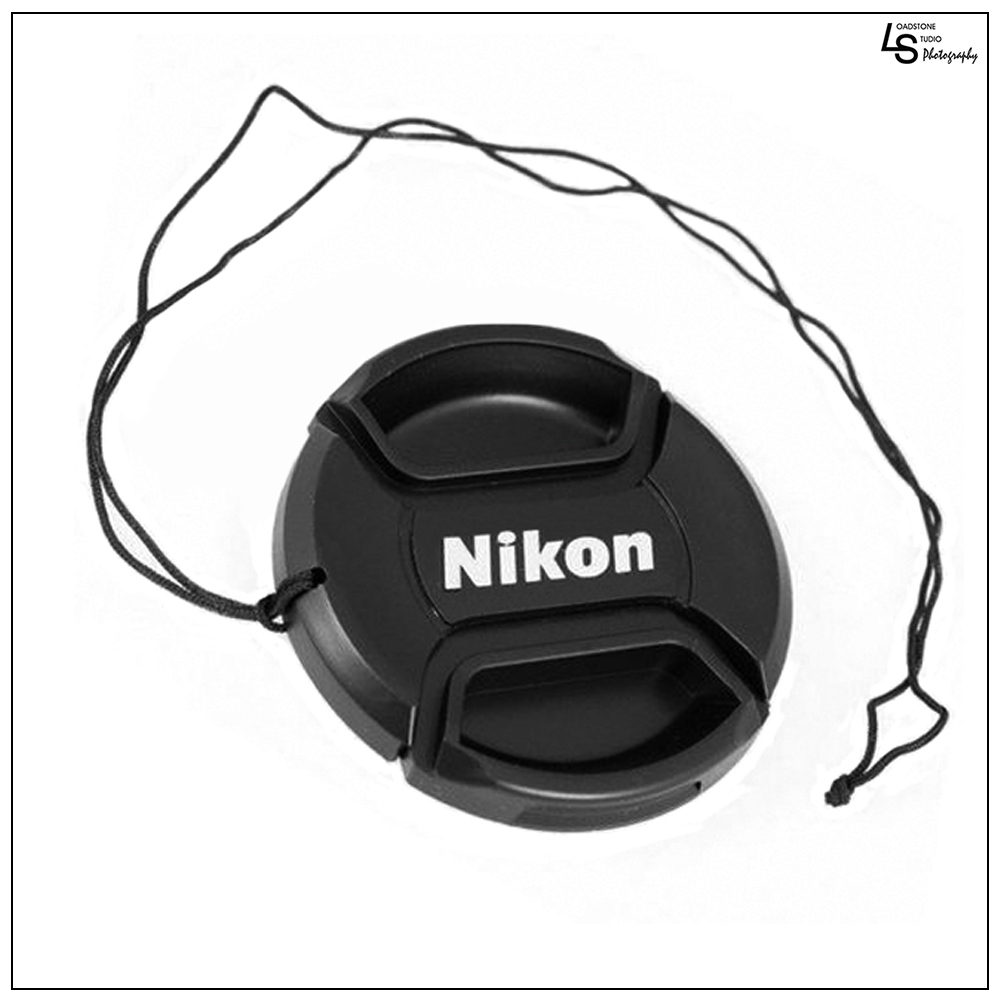 77mm Nikon Center Squeeze Pinch Snap-On Lens Front Replacement Cap for Lens Care on Nikon DSLR Camera by Loadstone Studio  WMLS0450