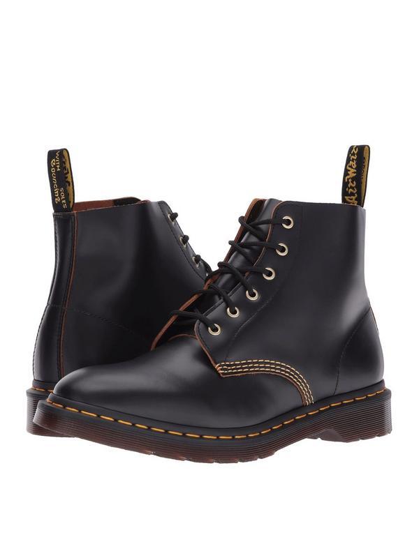 Dr. Martens 101 Archive Men's Shoes 6 Eyelet Boot 22701001 Black by Dr. Martens