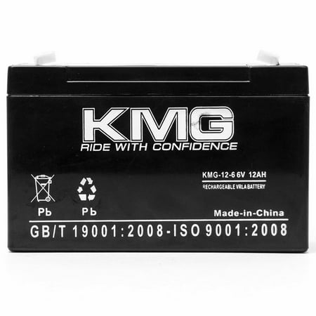6V 12Ah Replacement Battery for W. W. GRAINGER 4V313 5VC00 5VC08 5VC09 - image 2 de 3