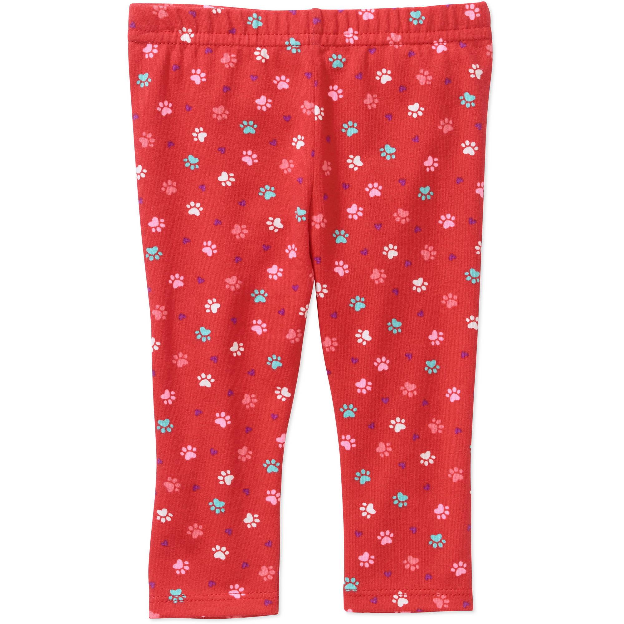 Garanimals Newborn Baby Girls' Print Knit Leggings