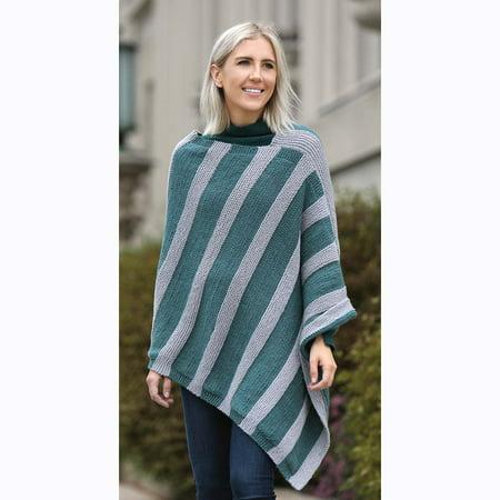Abyss Poncho Knit Pattern