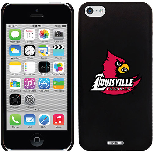 Coveroo University of Louisville Cardinal Design Apple iPhone 5c Thinshield Snap-On Case