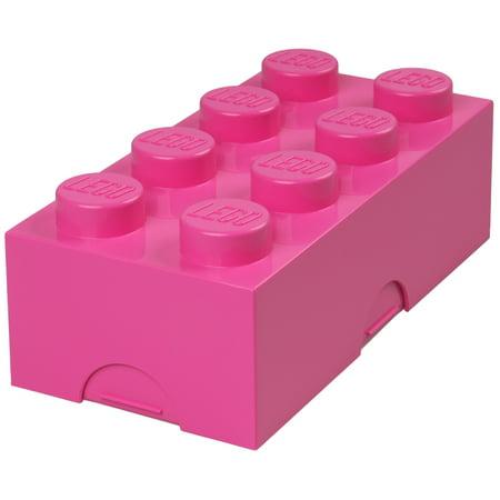 Lego Brick Lunch Box Plastic Food Storage Containers Lunchbox Kids Adults Retro Walmart Com