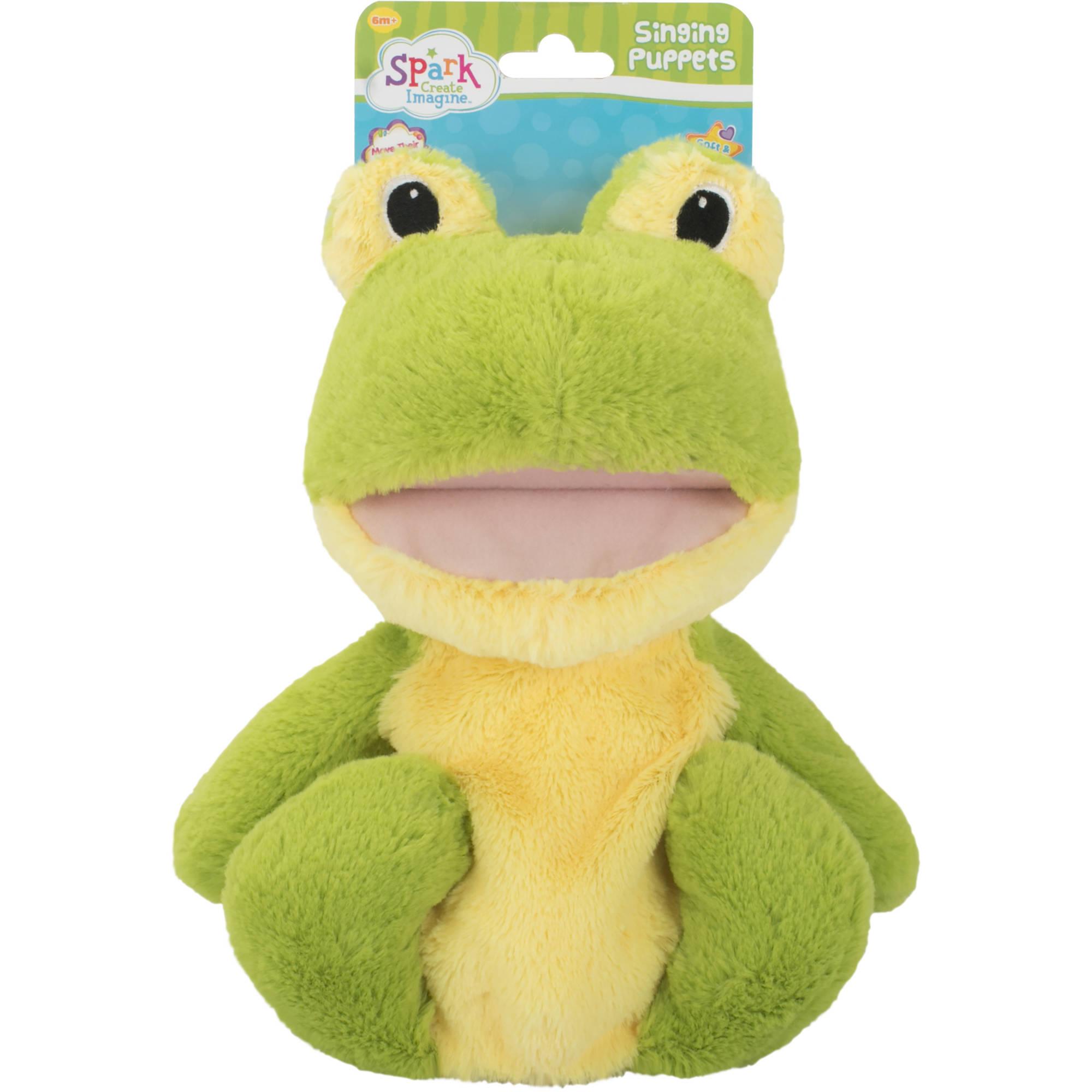 Spark Create Imagine Singing Puppets, Frog