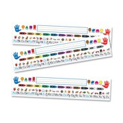 Carson-Dellosa Quick Stick Nameplate, Multicolor, 30 / Pack (Quantity)