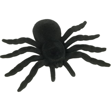 Scary Spiders For Halloween (Loftus Large Scary Lifelike Furry Spider Decoration Prop,)
