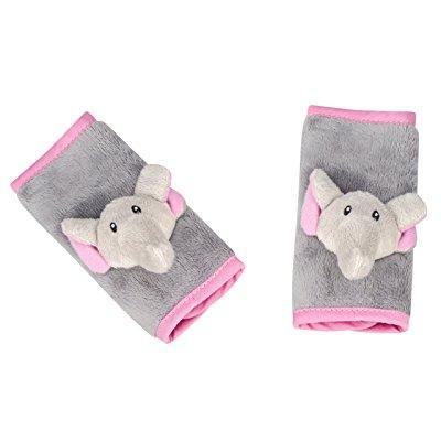 Animal Planet Strap Covers Elephant Grey Pink Infant Car Seat