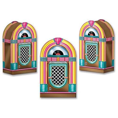 Jukebox Favor Boxes (3 Pack) - Party Supplies