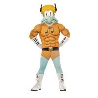 Squidward Muscle Chest Deluxe Child Costume   Spongebob Movie Sponge Out of Water Cartoon Merchandise   Kids Medium