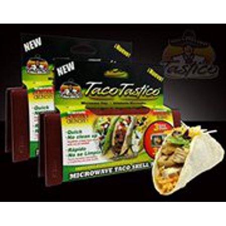 Taco Tastico 2 Pack - Microwave Taco Shell Maker - Save!