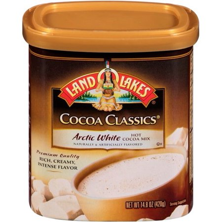 (4 Pack) Land O'Lakes Cocoa Classics Artic White Hot Cocoa Mix, 14.8 OZ](Hot Cocoa Mix Ornaments)