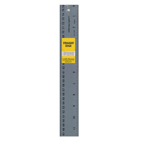 36 Inch Straight Edge - Precision Aluminum Straight Edge 36 in. (pack of 2)
