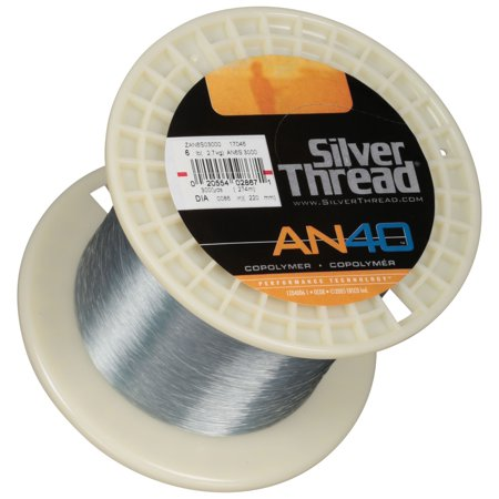 Silver Thread® AN40™ Silver Copolymer Fishing Line -