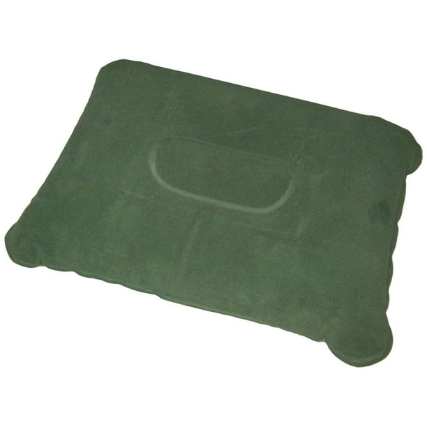 "ZALTANA Inflatable Camping Pillow (inflated Size: 11""x 8.5""x 4""H) Green, PL-1"