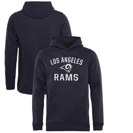 timeless design f6879 c292b Los Angeles Rams NFL Pro Line by Fanatics Branded Youth Victory Arch  Pullover Hoodie - Navy