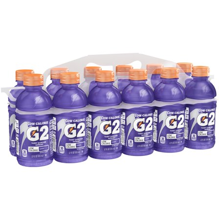 G2 Thirst Quencher Low Calorie Sports Drink, Grape, 12 Fl Oz, 12
