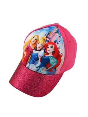 fc48eec13b4 Little Girls Princess Character 3D Pop Cap