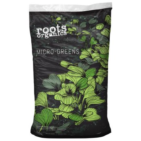 Black Gold Seedling Mix (Roots Organics Micro-Greens Starter and Seedling Mix 1.5 cu)