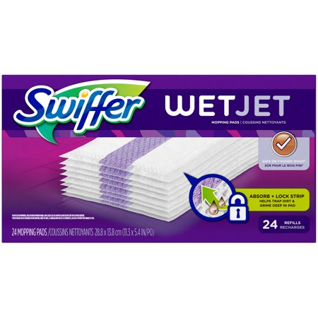 Swiffer Wet Jet Original Pad Refills 24 Count Walmart Com