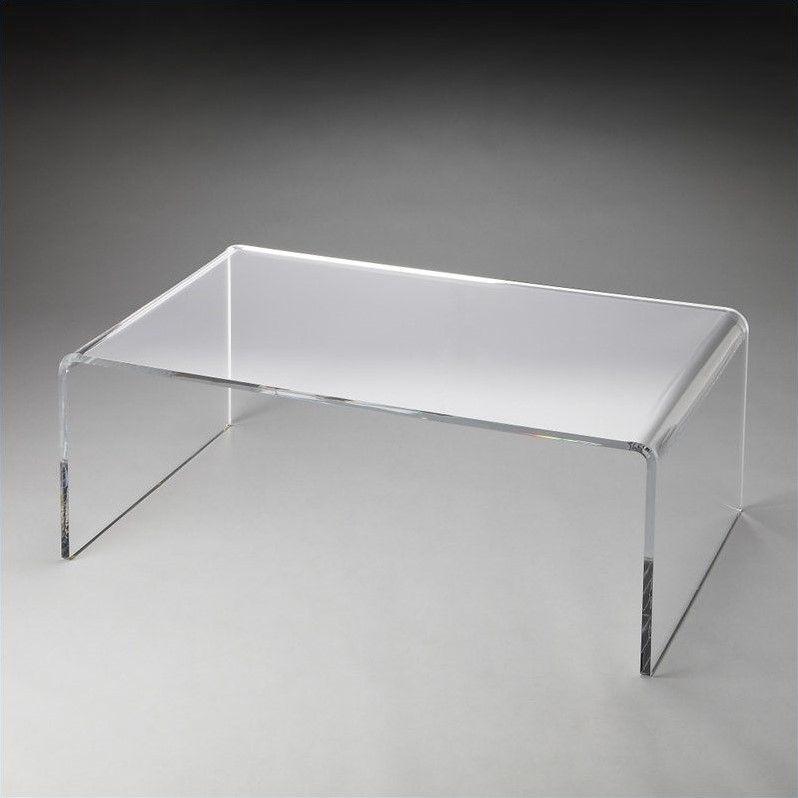 Butler Specialty Loft Crystal Clear Acrylic Coffee Table  Walmart Canada