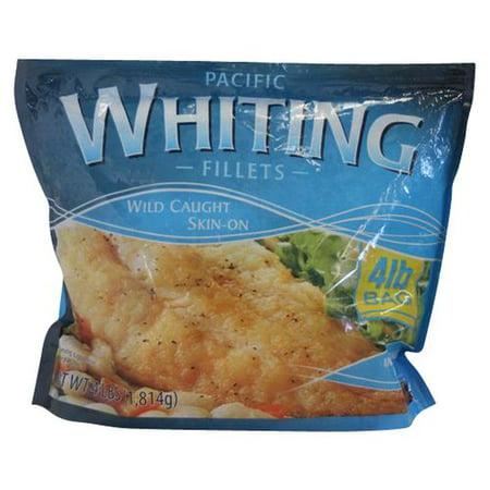 Whiting Fillets Skin On 4 Lb Walmart Com