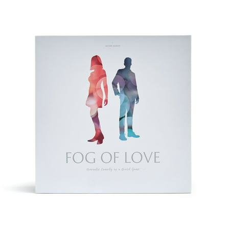 Fog of Love Board Game- Exclusively Sold on Walmart.com Male/Female Cover - Googly Eyes Board Game