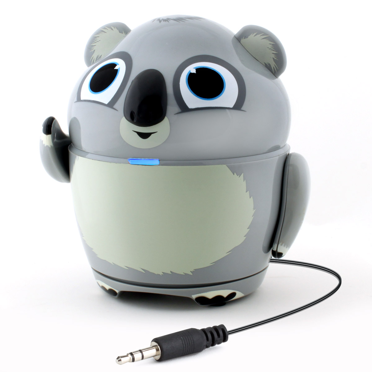 "GOgroove 3.5mm AUX Portable Koala Speaker Kit with Rechargeable Battery & Built-in 3.5mm Cord- Works with Dragon Touch 7"" , Orbo Jr. , Smartab STJR76PK 7'' & More Kids Tablets"