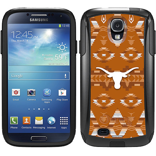 University of Texas Tribal Design on OtterBox Commuter Series Case for Samsung Galaxy S4