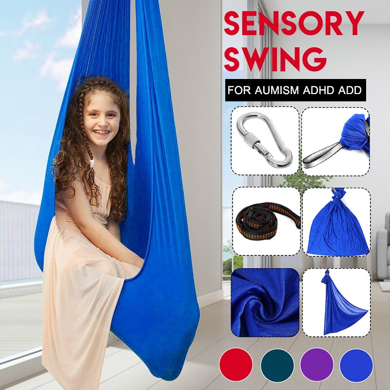 39 4x110 2 Inch Soft Sensory Swing Hammock Hanging Chair For