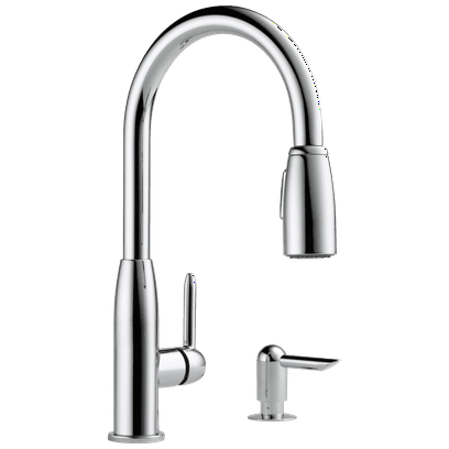 Peerless P88103LF-SD-L Core Kitchen Single Handle Pull-Down Faucet