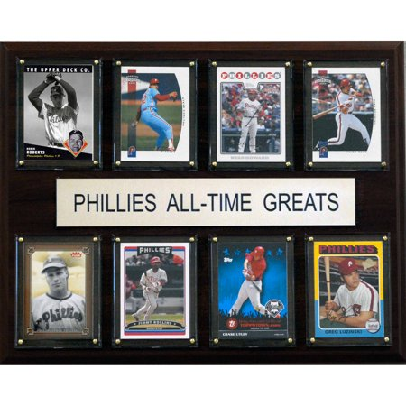 C&I Collectables MLB 12x15 Philadelphia Phillies All-Time Greats Plaque
