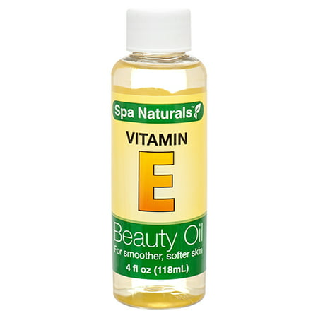 New 373330  Spa Naturals Vitamin E Beauty Oil 4 Oz (24-Pack) Skin Care Cheap Wholesale Discount Bulk Health & Beauty Skin Care Fashion - Natural Spa