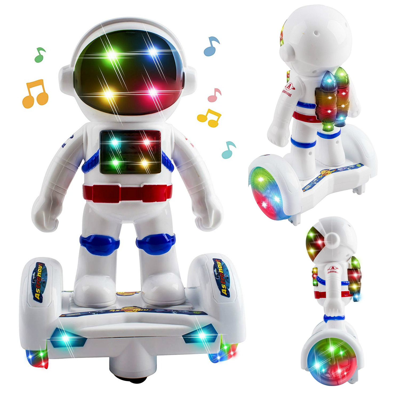 Cute Hamster Rabbit Sport Wheel LED Light Music Kids Electronic Toys Pet Toys