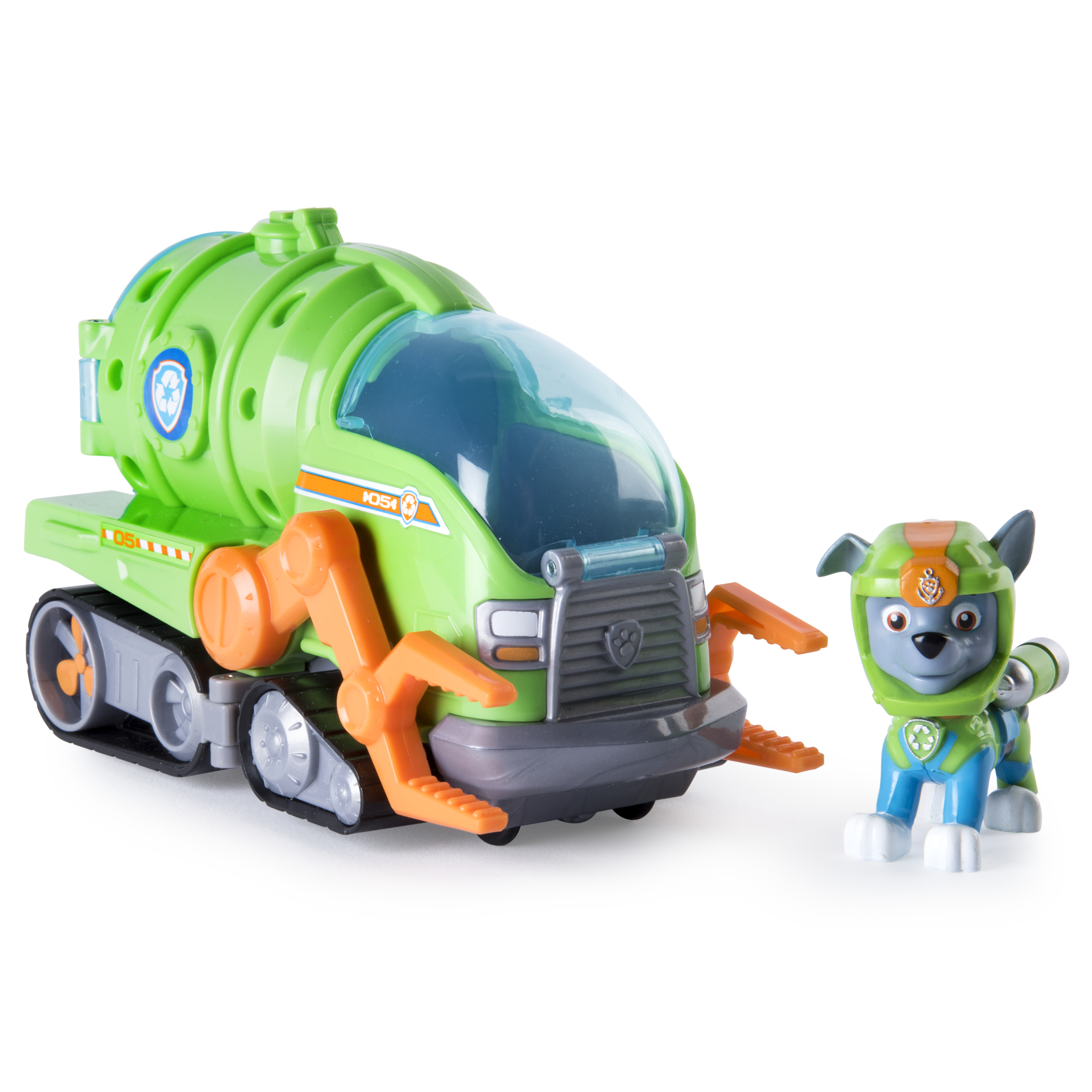 Paw Patrol - Rocky's Transforming Sea Patrol Vehicle