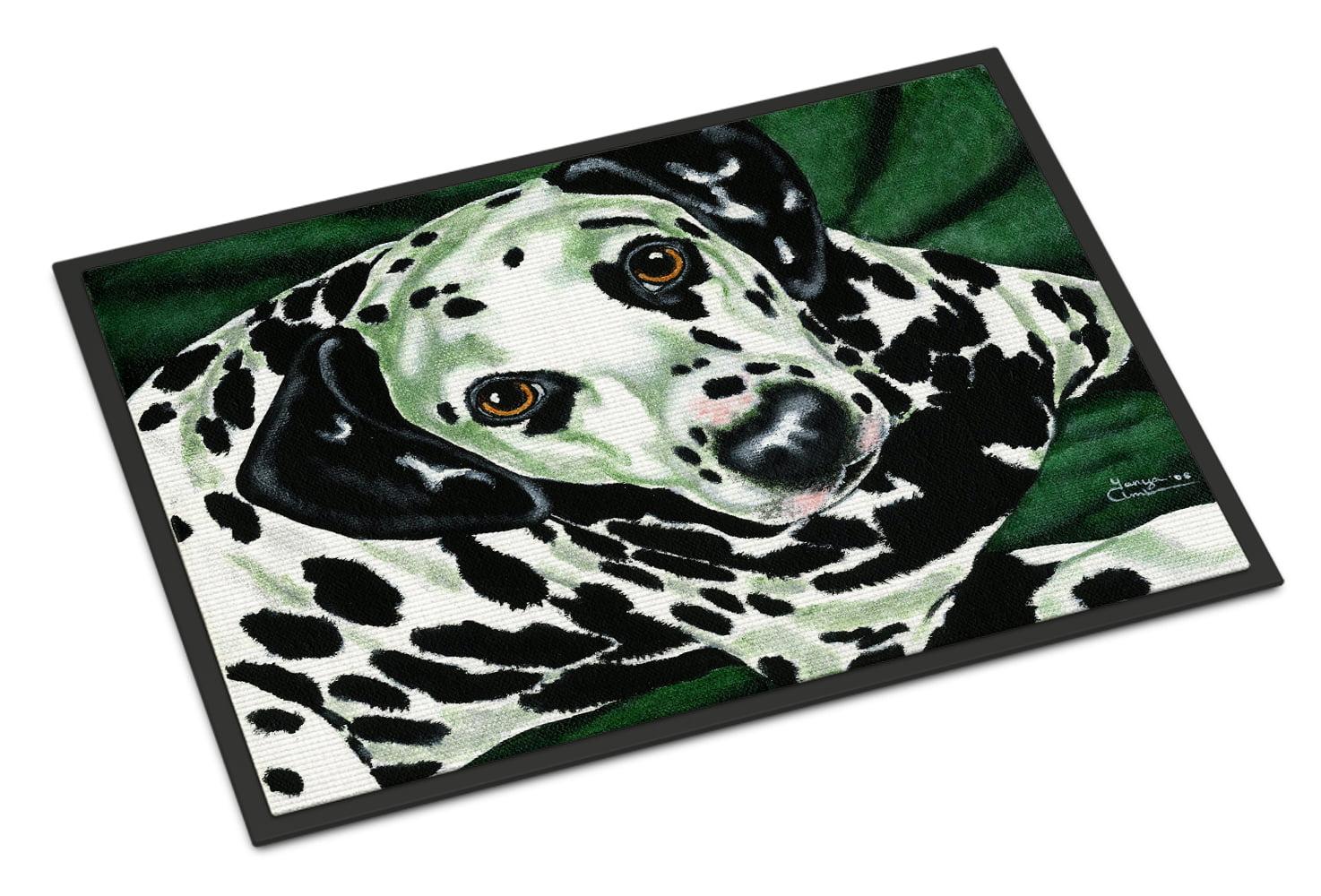 Emerald Beauty Dalmatian Doormat by Caroline's Treasures