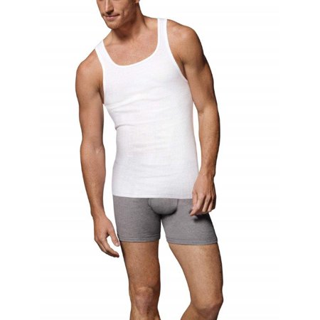 Hanes Tall SUPER VALUE Men's Comfortsoft Fresh IQ A-Shirt 5 pack