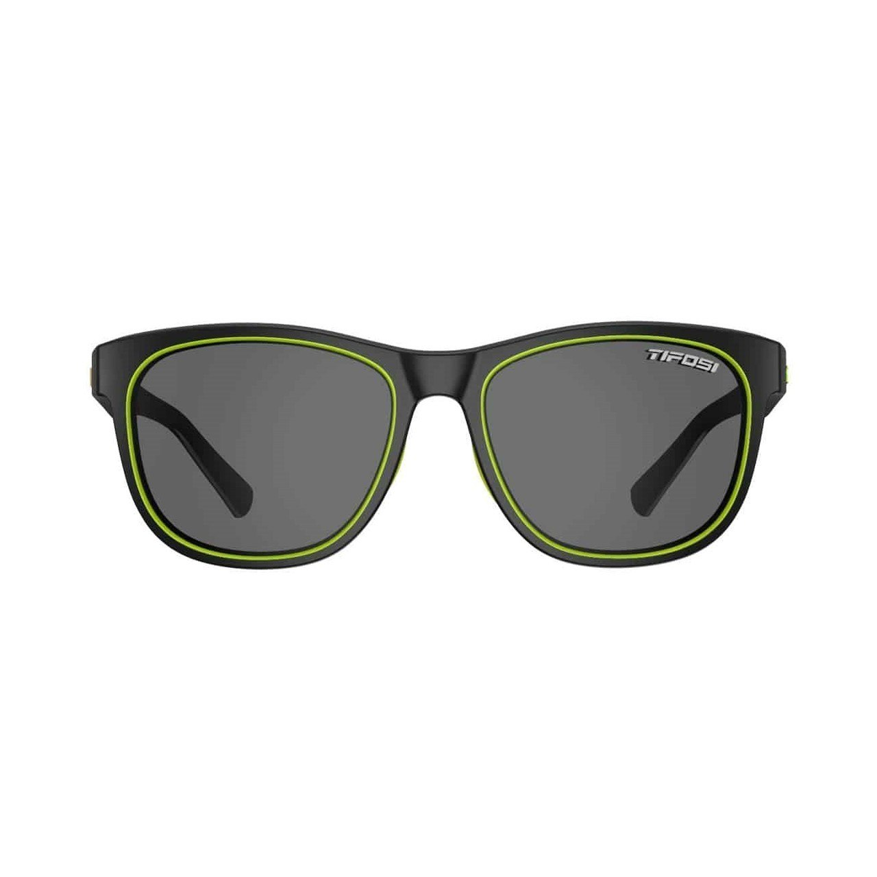 Tifosi Swank Sunglasses Satin Black//Neon-New in Box