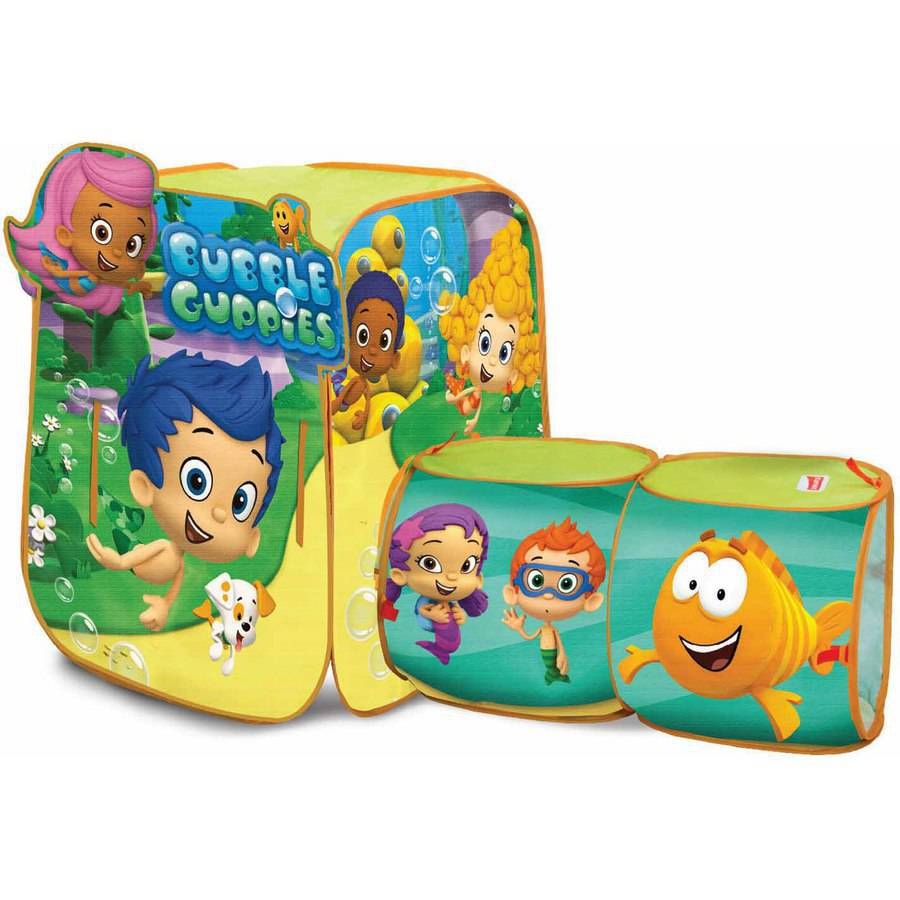 Playhut Nickelodeon Bubble Guppies Discovery Hut
